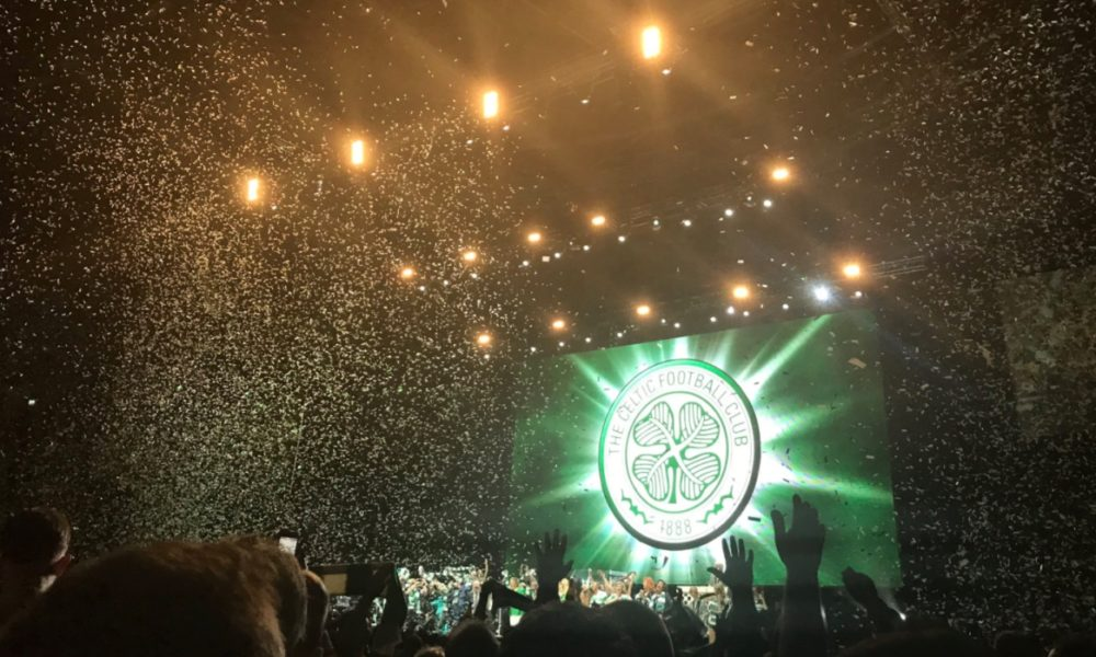 Hydro Stunt Timed Nicely for Celtic Fan Kevin Bridges